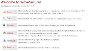 Wavesecure: Protegiendo tu móvil ante los robos