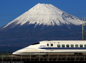 Fuji - Shinkansen by K7